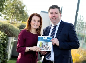 Rachel Hussey, Chair 30% Club with Padraig Hourigan, President Independent College Dublin